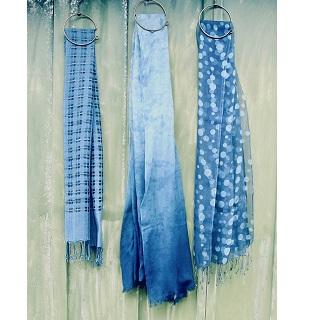 【ホットマン&壺草苑】シェニール織り&藍染フェア