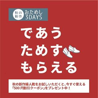 【camelot】おためし3days開催!!