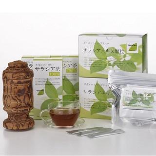 サラシア茶&ドライフルーツ販売会