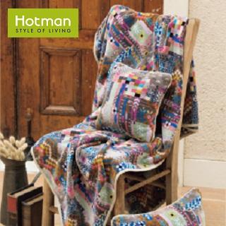 <Hotman>シェニール織りと藍染めの世界