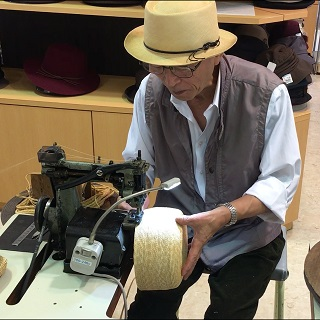職人の手仕事「手作り帽子オーダー受注会」