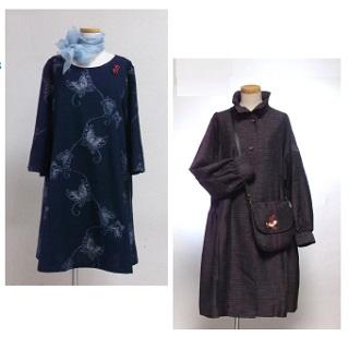 工房織布(おりーぶ) きものリメイク創作服展