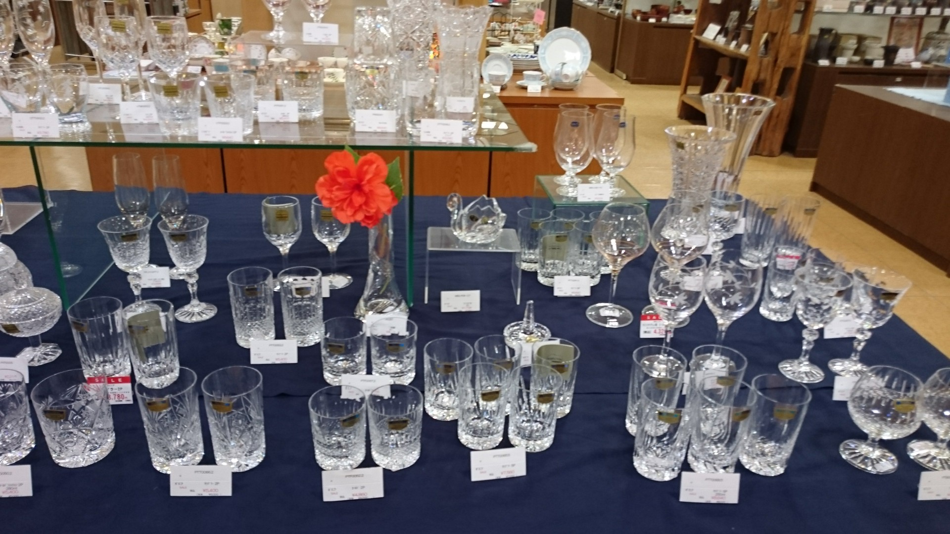 クリスタルガラス        50~30%OFF