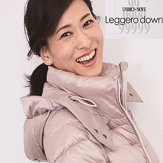 Leggero down Collection×kawa-kawa