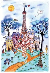 日仏友好160周年記念 『ボンジュール!フランス クリーブ&キロメロ二人展』