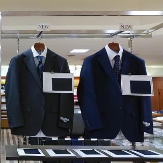 """五大陸の""""フレシャーズ""""スーツ"""