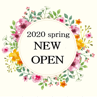 2020 spring<br>NEW SHOP OPEN